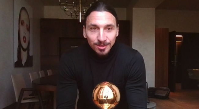Ibrahimovic 12. kez yılın futbolcusu seçildi