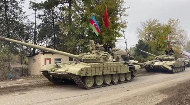 Azerbaycan ordusu Kelbecere girdi