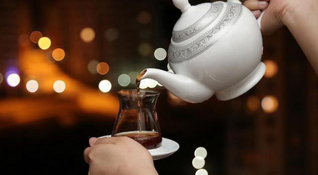 Çay tüketimi arttı