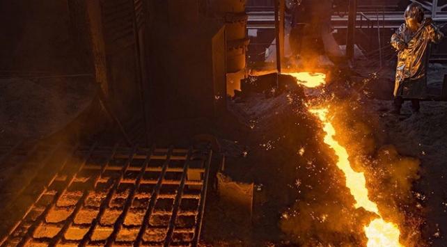 Türkiyenin ham çelik üretimi 3,2 milyon tona yükseldi