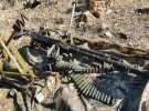 Irak'ın kuzeyinde teröristlerce kullanılan silah ve mühimmat ele geçirildi