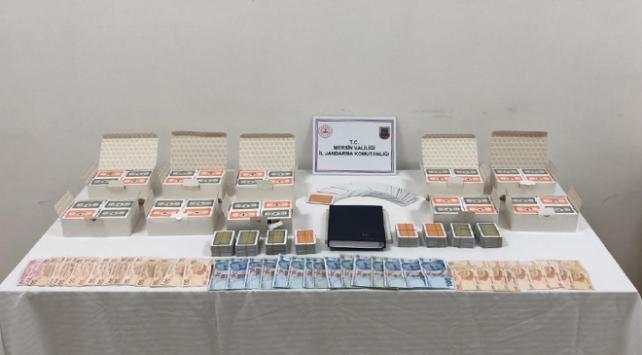 Mersinde kumar oynayan 11 kişiye 56 bin lira ceza