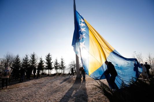 Bosna Hersekte Devlet Günü törenlerle kutlandı