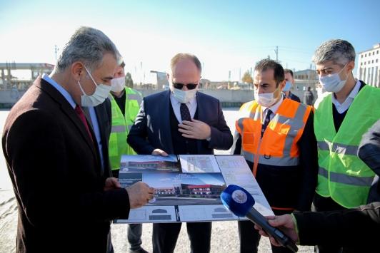 Sivasta yeni itfaiye binası inşa ediliyor
