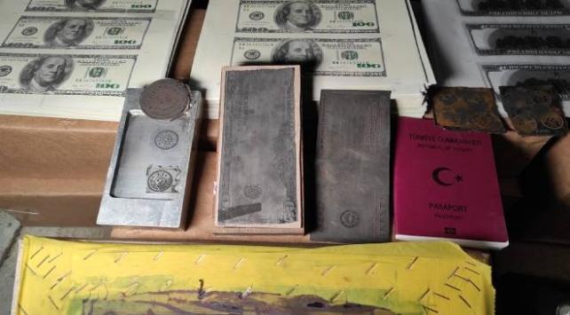 İstanbulda sahte para ve evrak basan 3 kişi yakalandı