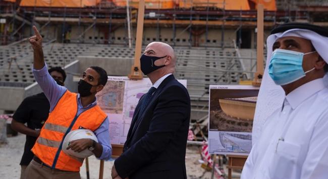 Gianni Infantino: Katarda Dünya Kupasının tadını çıkarabileceğiz