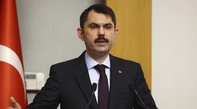 Bakan Kurum: İzmirde 5 bin konutumuzun projelerini hazırladık