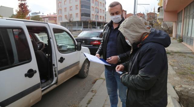 Erzurumda COVID-19 tedbirlerini ihlal eden 20 kişiye para cezası