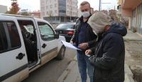 Erzurum'da COVID-19 tedbirlerini ihlal eden 20 kişiye para cezası