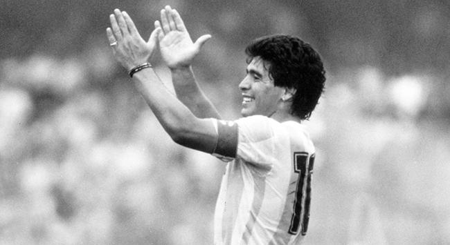 Maradona için saygı duruşu yapılacak
