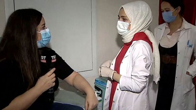 TRT Haber muhabirinin aşı deneyimi