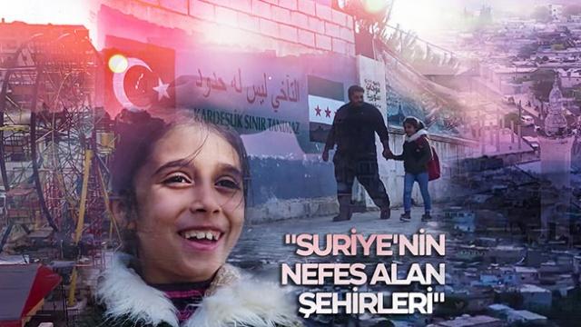 Suriye'nin nefes alan şehirleri