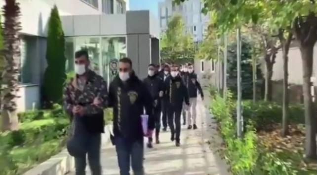 İstanbulda organize suç örgütüne operasyon: 7 şüpheli tutuklandı