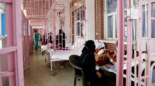 Yemende 10 ayda 204 bin kolera vakası