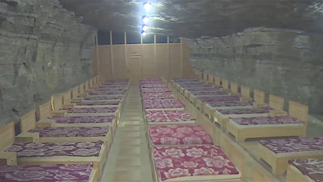 Tuz Dağı Mağara Hastanesi şifa dağıtıyor
