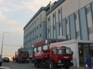 Antalya'da hastanenin çatı katında çıkan yangın söndürüldü