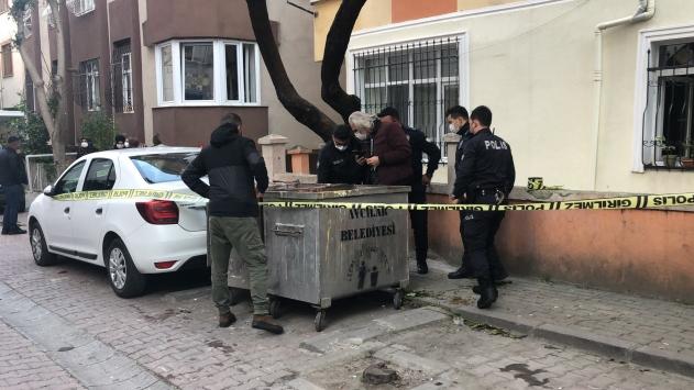 İstanbulda çöp konteynerinin yanında bir bebeğin cansız bedeni bulundu