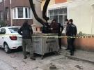 İstanbul'da çöp konteynerinin yanında bir bebeğin cansız bedeni bulundu