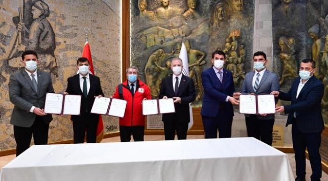 Gaziantepte sosyal tesisler koronavirüsle mücadelede kullanılacak