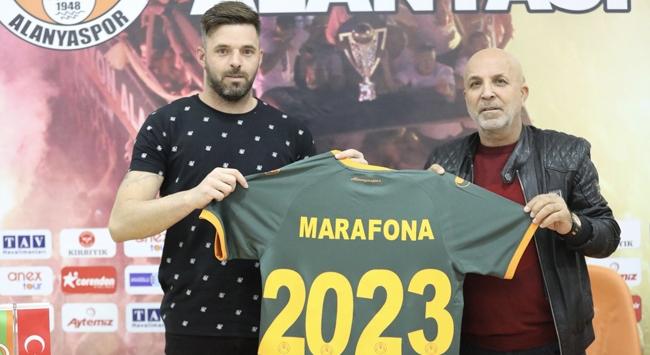 Alanyaspor Marafona ile sözleşme uzattı