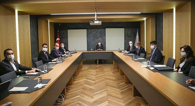 Bakan Kasapoğlu kulüp başkanlarıyla bir araya geldi