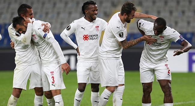 Sivasspor Avrupada ikinci galibiyetini aldı