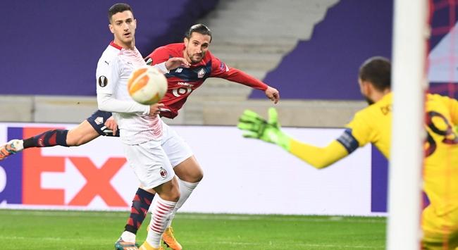 Lille-Milan maçından kazanan çıkmadı