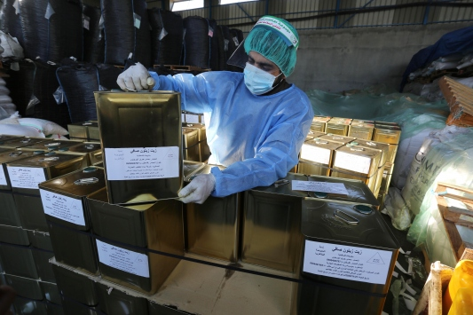 Gazze ilk kez Arap ülkelerine zeytinyağı ihraç ediyor
