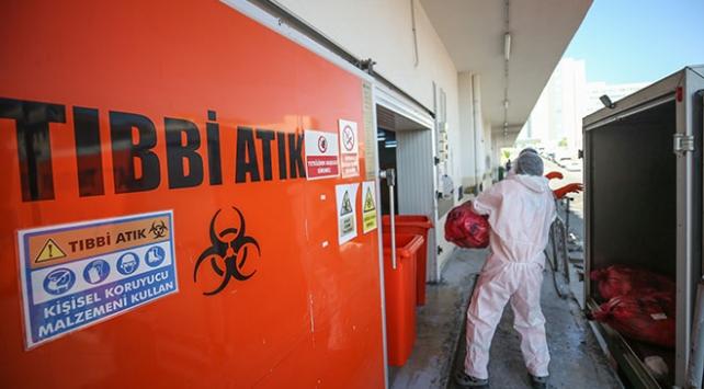 Sağlık kuruluşlarında yaklaşık 91 bin ton tıbbi atık toplandı