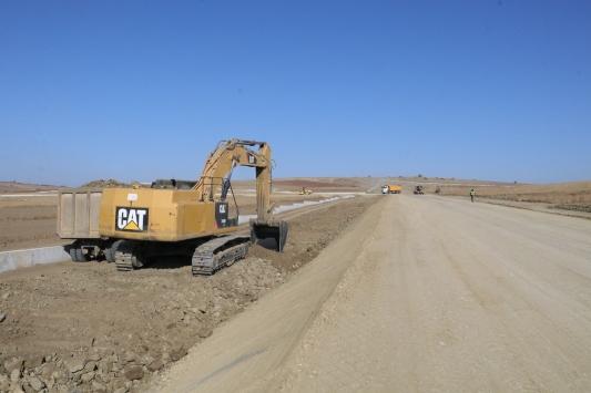 Yozgat Havalimanında altyapı çalışmalarının yüzde 65i tamamlandı