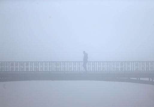 Düzcede yoğun sis etkili oluyor