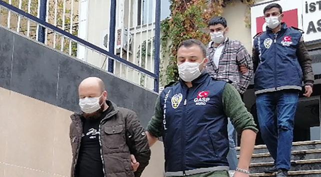 İstanbulda yabancı uyruklu iş adamlarını gasbedenler tutuklandı
