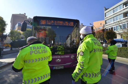 """Çorumda halk otobüslerinde """"sivil polis"""" uygulaması olumlu sonuç verdi"""