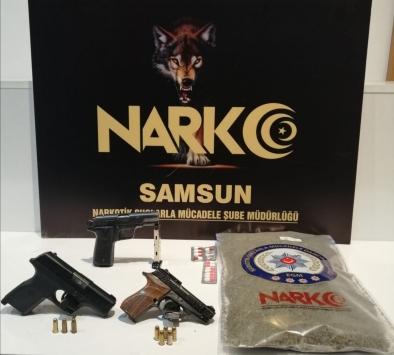 Samsundaki uyuşturucu operasyonlarında biri kadın 3 şüpheli yakalandı