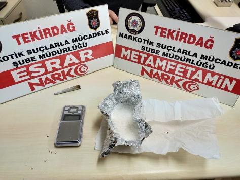 Tekirdağda uyuşturucu operasyonlarında 5 kişi yakalandı