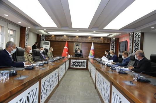 Şırnakta kış tedbirleri koordinasyon toplantısı gerçekleştirildi