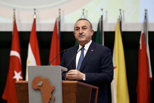 Dışişleri Bakanı Mevlüt Çavuşoğlu Nijerde