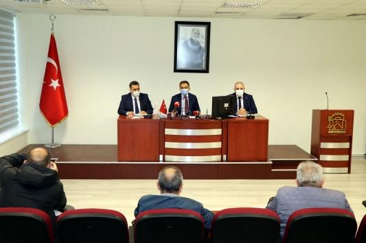 Çankırı Valisi Ayazdan kentteki Kovid-19 vakalarına ilişkin açıklama: