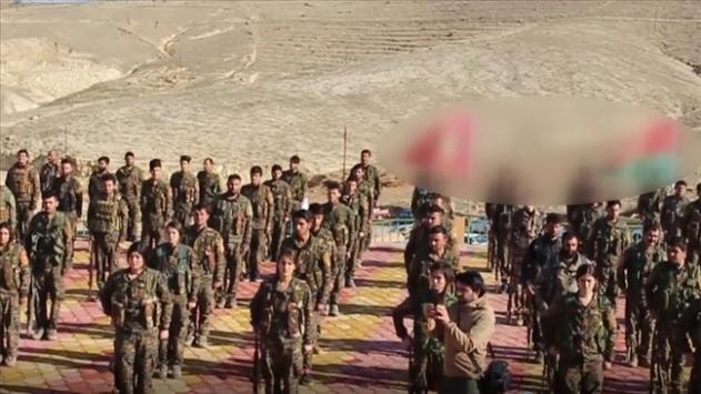 Sincar Kaymakamı Halil: Sincardaki yasa dışı gruplara (PKK) ait bazı bayraklar indirildi