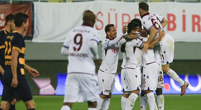Trabzonspor Ankarada tek golle kazandı
