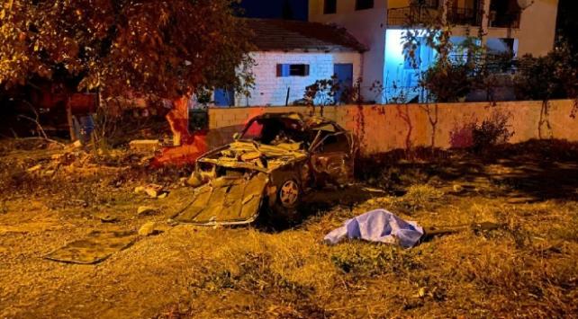 İzmirde köpeğe çarpan otomobilin sürücüsü hayatını kaybetti
