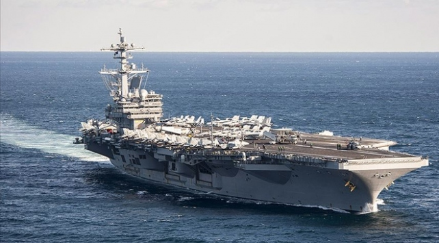 ABD uçak gemisi Orta Doğuya dönüyor