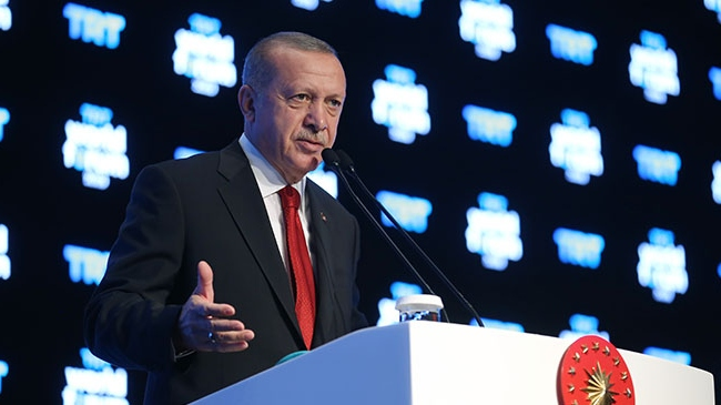 Cumhurbaşkanı Erdoğan TRT World Forum 2020'de