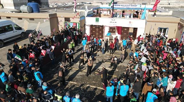 Türkiye Diyanet Vakfı İdlibde okul açtı