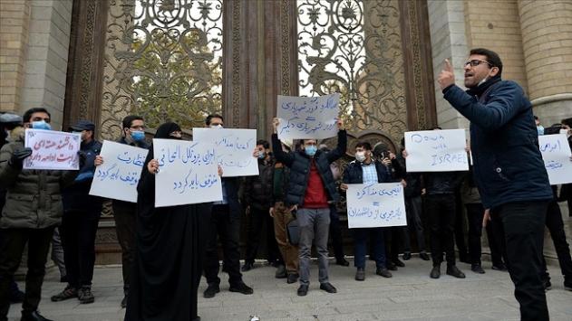 İranlı nükleer bilimcinin öldürülmesi Tahranda protesto edildi