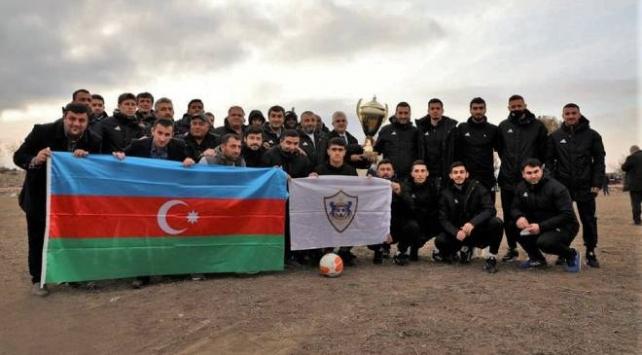 Ağdamın futbol takımı Karabağ antrenman maçı yaptı