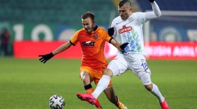 Galatasaray deplasmanda farklı kazandı