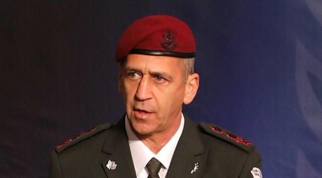 İsrail Genelkurmay Başkanı: İranın Suriyeye yerleşmesine karşı hareket etmeyi sürdüreceğiz