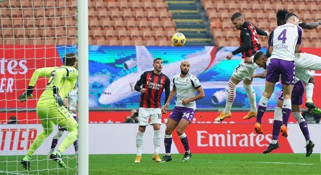 Milan Fiorentina karşısında zorlanmadı