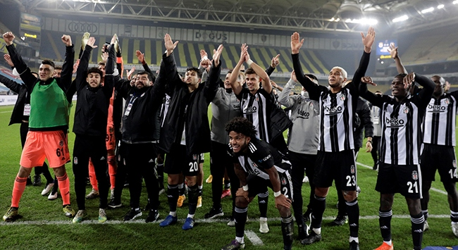 Beşiktaş Fenerbahçeyi 18 maç sonra yendi